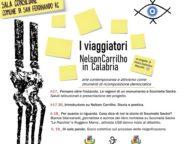 """San Ferdinando, teatro del primo evento partecipato del progetto artistico """"I Viaggiatori. Nelson Carrilho in Calabria."""""""