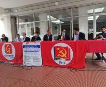 Polistena, manifestazione del PCI e da Generazione.com sulle battaglie per la sanita'