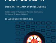 Nuovo studio della societa' Italia di Intelligence sullo scenario energetico italiano post covid 19