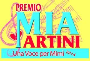 Logo Premio Mia Martini una voce per mimi 2014 x