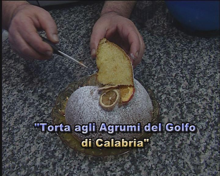 Torta agli agrumi del Golfo di Calabria