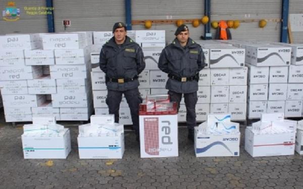 gioia-tauro-sequestrate-14-tonnellate-di-sigarette-contraffatte
