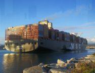 Porto di Gioia tauro, e' arrivata  una delle navi porta containers più grandi al mondo – la Sixin