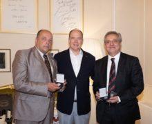 Il Sindaco Di Cittanova presente alla cena ufficiale con il Principe Alberto II di Monaco a Rimini