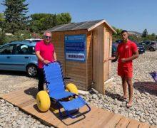 Spiaggia attrezzata per disabili Trebisacce in loc. 104