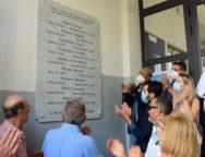 Palmi – Scoperta la targa in memoria dei partigiani caduti nella guerra di liberazione dal nazifascismo