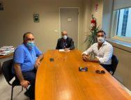 Controllo qualita' acque per la balneazione: Incontro tra Capitano ultimo, Domenico Furgiuele e Pietro Raso