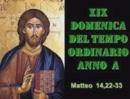 Il cammino dello Spirito, XIX Domenica del Tempo Ordinario