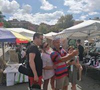 Comunali: prosegue il tour di Klaus Davi nei mercati e nei quartieri di reggio