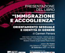 """Reggio, presentazione libro """"Orientamento sessuale e identità di genere immigrazione e accoglienza"""""""
