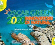 Coldiretti Premio Oscar Green 2020: gran finale regionale a Capo Vaticano,Ricadi (VV)mercoledì 23 settembre p.v. con la generazione anti-covid