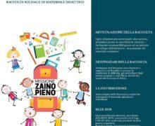 Palmi, Missione Zaino Pieno-in arrivo le prime donazioni