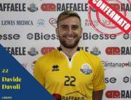 Raffaele Lamezia Pallavolo, confermato Davide Davoli