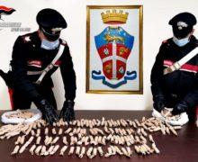 Polistena, trasportavano fuochi pirotecnici illegali, denunciati