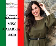 Miss Italia, Francesca Tiziana Russo è Miss Calabria 2020