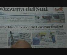 Rassegna Stampa  Venerdi' 4 Dicembre 2020
