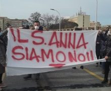 S. Anna Hospital: Bloccato il ponte Morandi, 300 lavoratori e lavoratrici attendono risposte