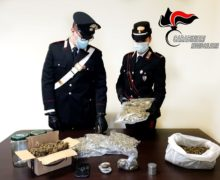 Taurianova, un arresto per possesso di 1,8 KG di Marjuana