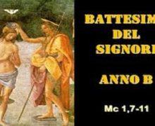 Il Cammino dello Spirito, Battesimo del Signore Anno B
