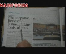 Rassegna Stampa Giovedi' 14 Gennaio 2021