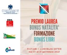 Ente bilaterale del terziario: attivi i bandi libri scolastici premi di laurea e bonus bebe'