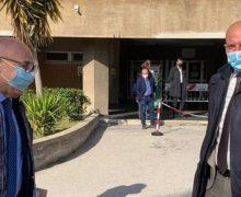 Trebisacce, il Commissario ad Acta Andrea Urbani visita l'ospedale Chidichimo