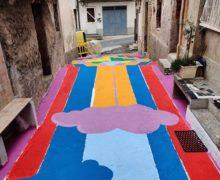 Melicucco, murales in memoria di Nik Spatari