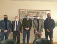 L'associazione Sindaci della Citta' degli Ulivi ha incontrato il Commissario del Porto Andrea Agostinelli