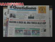 Rassegna Stampa Lunedi' 22 Febbraio 2021