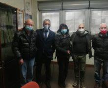 Polistena, proficuo ed importante incontro tra una delegazione dell'Anpi e il commissario Umberto Campini