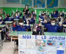 """Gli alunni della V C della Scuola Primaria dell' I.C.  Monteleone – Pascoli allo  """"ESA  ASI  SCOOL  DAY 2021""""."""