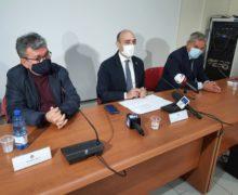 Il vice ministro alle Infrastrutture Alessandro Morelli in visita al Porto di Gioia Tauro