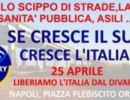 I Sindaci del Sud onoreranno il 25 Aprile a Napoli per affermare il valore della coesione nazionale e della equa distribuzione delle risorse
