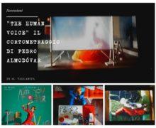 """""""THE HUMAN VOICE"""" il cortometraggio  Di Pedro Almodóvar   Di Al.Tallarita"""