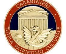 Carabinieri del nucleo Patrimonio Culturale di Cosenza presentano l'attivita' operativa 2020