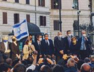 Roma, manifestazione a favore del popolo Ebraico e per la Pace