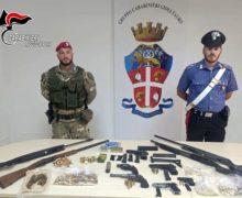 Gioia Tauro: recuperato dai Carabinieri un arsenale