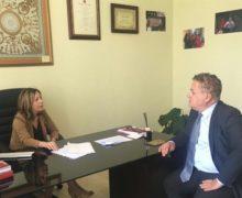 Incontro tra il consigliere regionale  Marcello Anastasi e la Senatrice Silvia Vono