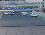 All'esordio stagionale, il due volte campione della Carrera Cup Italia sale sul podio in gara 1 e vince gara 2