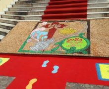 Gioia Tauro partecipa al progetto del tappeto mondiale del cammino di Santiago di Compostela
