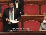 Quando il buon senso cede il passo all'ideologia: discussione del DDL Zan al Senato i dubbi Renzi e l'intervento di Matteo Salvini   Di Al Tallarita
