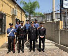 Il Generale Gianfranco Cavallo, Comandante Interregionale Culqualber visita i Comandi Compagnia di Melito Porto Salvo e Bianco, nonché la Stazione di Africo