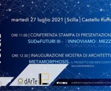 Conferenza stampa SUDeFUTURI e inaugurazione mostra Castello Ruffo di Scilla