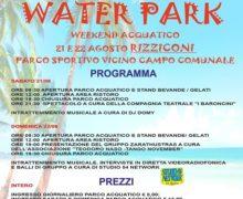 Water Park Rizziconi: l'unico evento acquatico in Calabria con maxi scivolo alto 11 metri e lungo 70