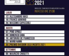 Caffè letterari 2021 Rhegium Julii, Domenico Dara presenta 'Malinverno'