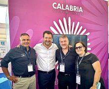 Matteo Salvini al Salone Nautico di Genova abbraccia la Calabria che produce.
