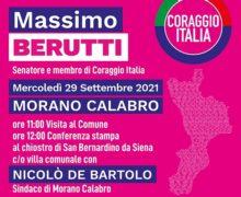 Il Senatore Berutti in Calabria per la campagna elettorale di Coraggio Italia