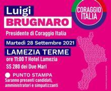 Regionali, Luigi Brugnano torna in Calabria e lancia lo sprint alla campagna elettorale