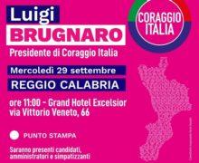 Regionali, Mercoledi' prossimo Brugnaro fara' tappa a Reggio Calabria