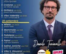 Toninelli in Calabria a sostegno dei candidati consiglieri M5S e di Amalia Bruni